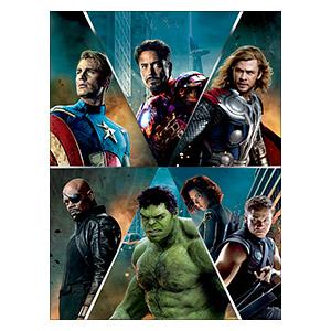 Avengers. Размер: 30 х 40 см